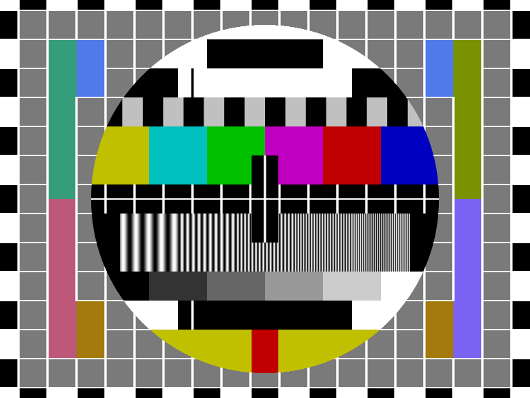 TV test pattern 1