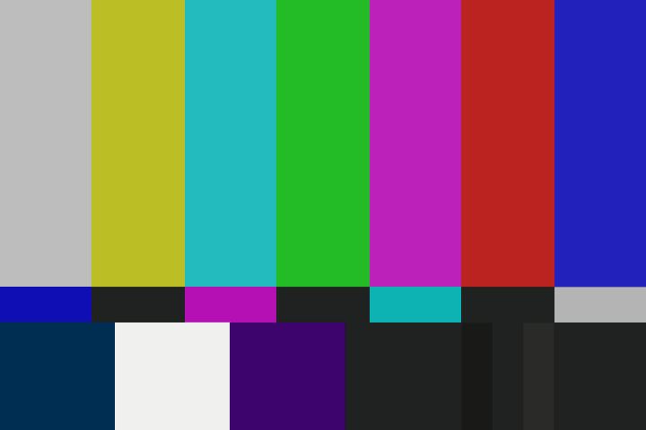 TV test pattern 2