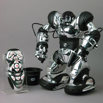 Silver Robosapien